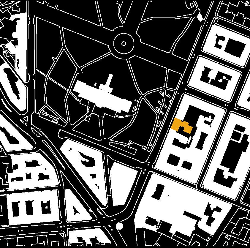 Karta över Rex Arkitektbyrås kontor