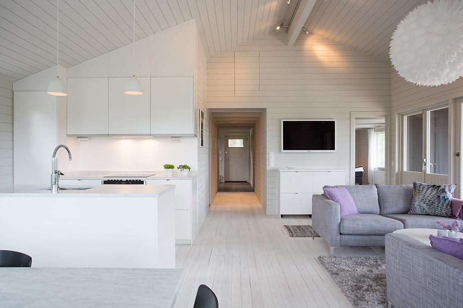 Vardagsrum i sommarvillan, av Rex Arkitektbyrå