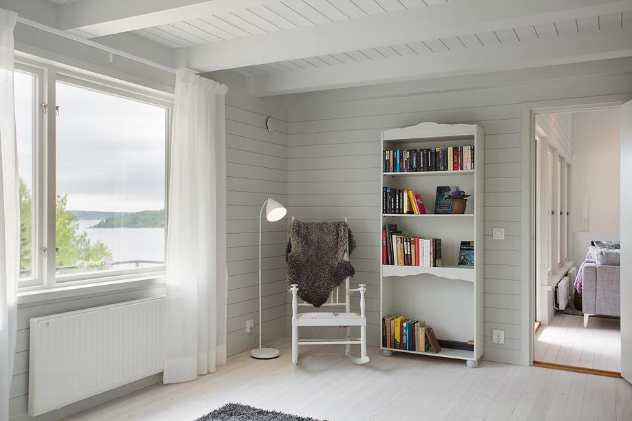 Sovrum i sommarvillan, av Rex Arkitektbyrå