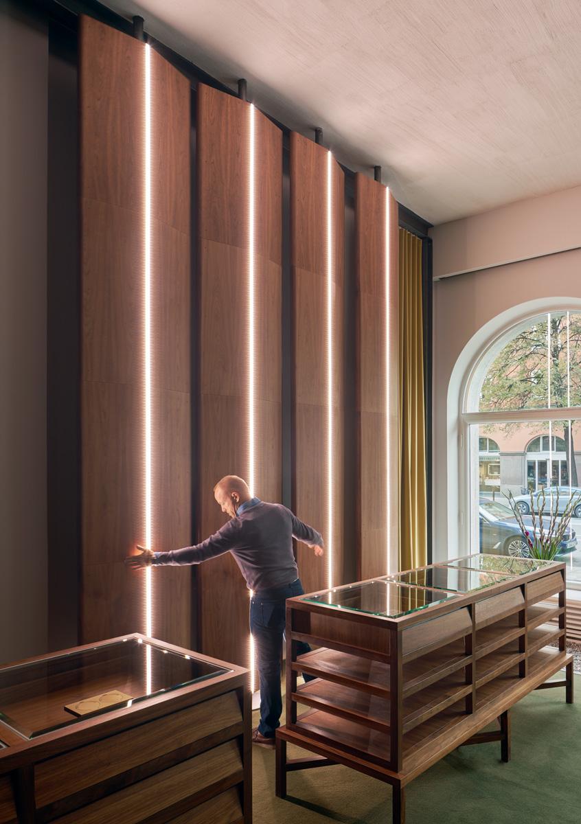 Alouds nya showroom och kontor är ritat av Rex Arkitektbyrå i Stockholm