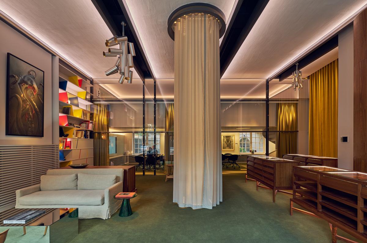 Nytt Showroom åt Aloud, ritat av arkitekterna på Rex Arkitektbyrå