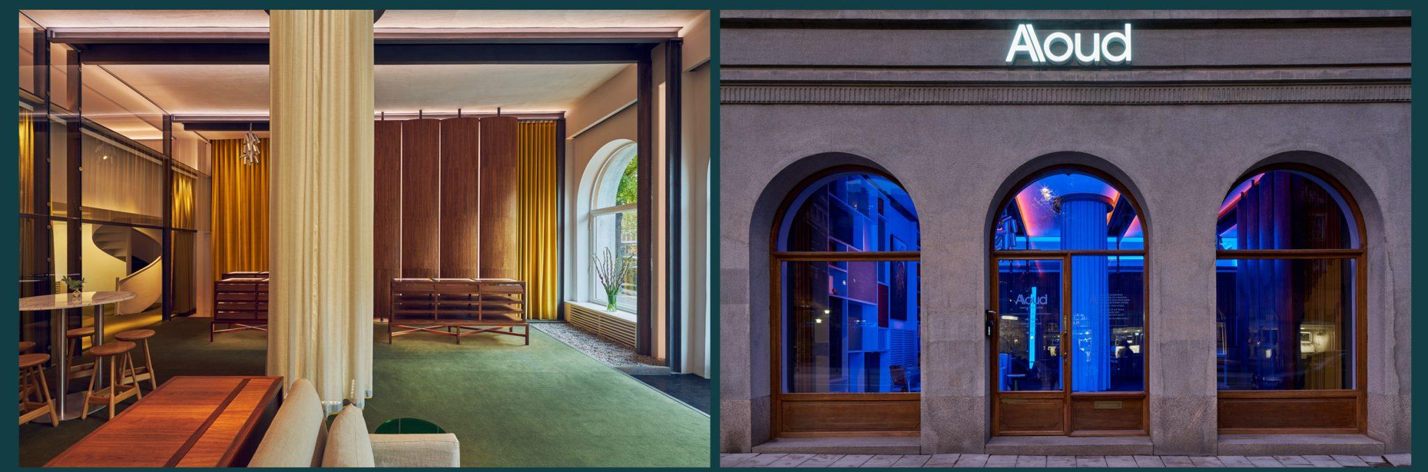Arkitekterna på Rex Arkitektbyrå ritade Alouds nya showroom och kontor i samarbete med företaget själva.