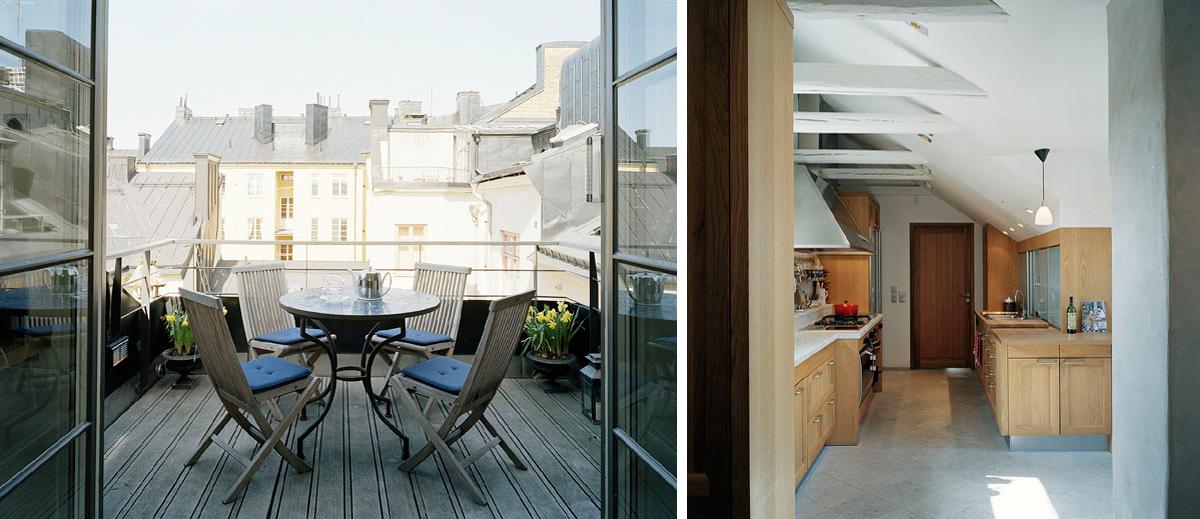 En råvind omvandlades till ett ljust och fint hem av Rex Arkitektbyrå