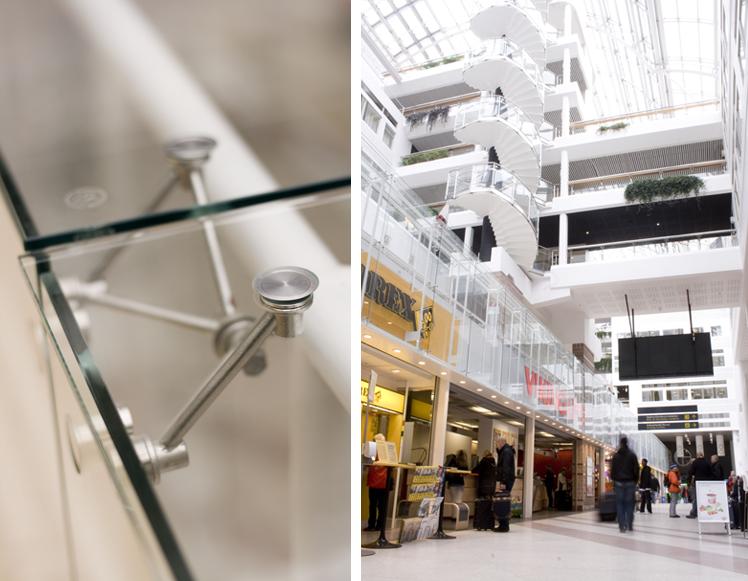 Rex Arkitektbyrå uppdaterade Cityterminalen. Nu är det en ljus och fin miljö där resenärerna lätt kan orientera sig.