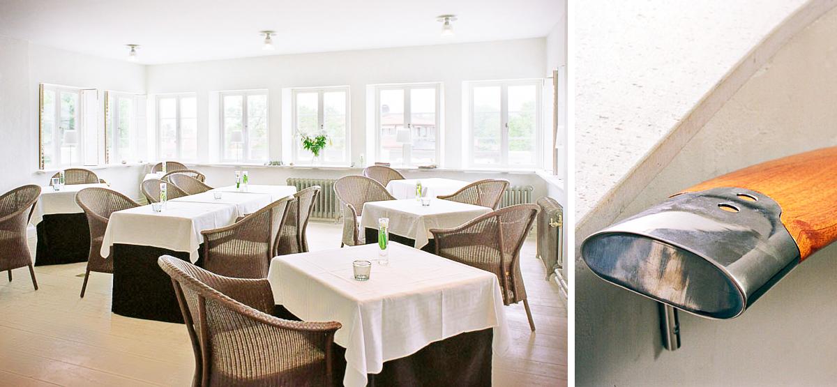 Lounge i Hotell Sands, nytt hotell i Sandhamn av Rex Arkitektbyrå och Anders Berg.