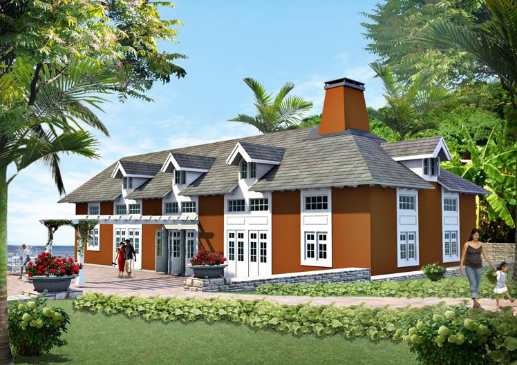 Nytt hotellområde på ön Bequia i Västindien, framtaget av Rex Arkitektbyrå tillsammans med landskapsarkitekt från USA.