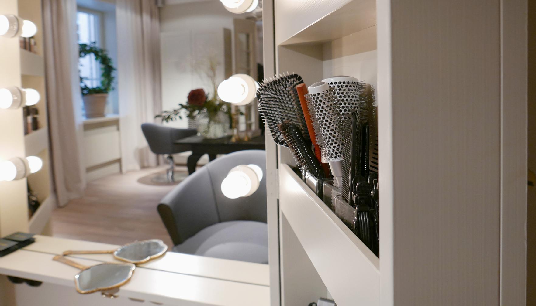 Fina detaljer i Studio Hagman, ritat av Rex Arkitektbyrå