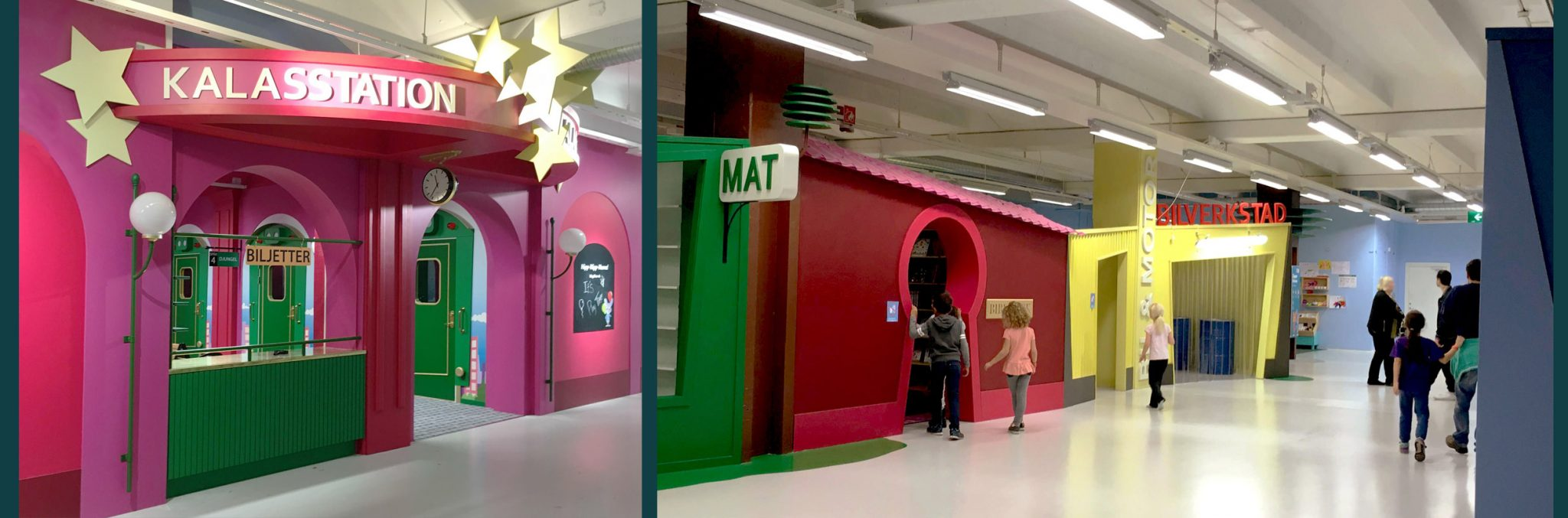 Rex Arkitektbyrå har ritat Andys lekland i Stockholm