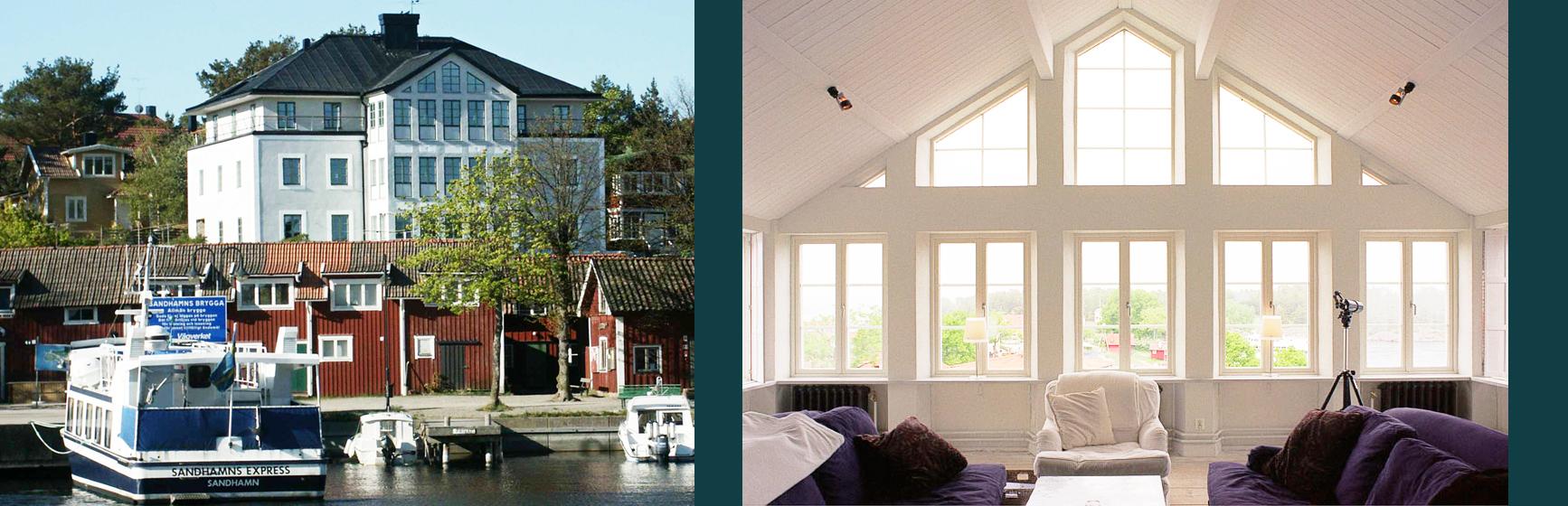 Hotell Sands, nytt hotell i Sandhamn av Rex Arkitektbyrå och Anders Berg.