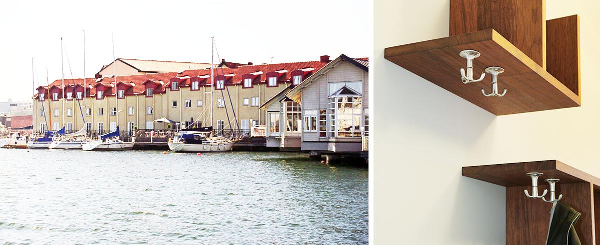 Hotell Packhuset, Kalmar. Inredning ritad av Rex Arkitektbyrå