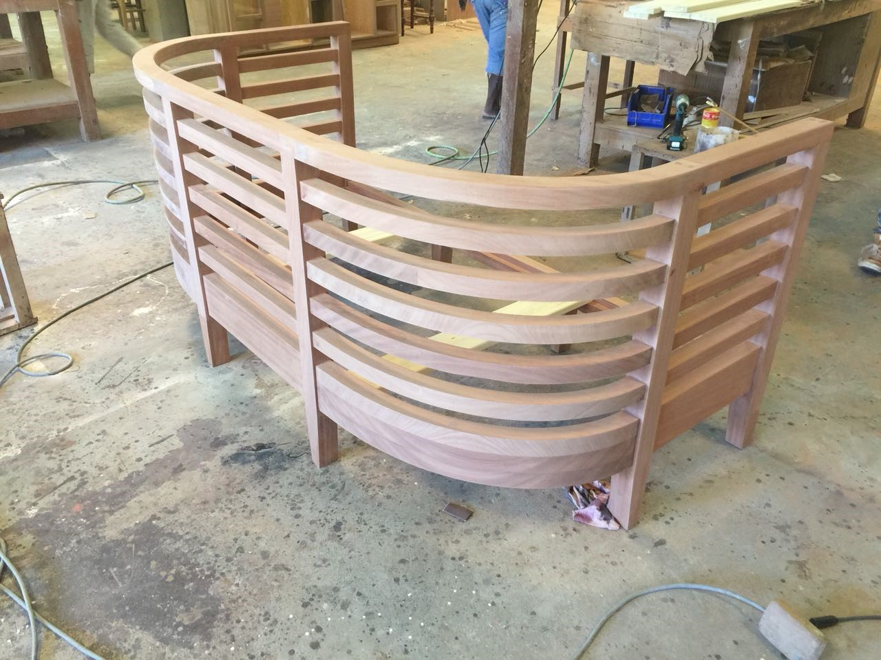"""Specialritat soffa till projektet """"Firefly Villas"""", designad av Rex Arkitektbyrå."""
