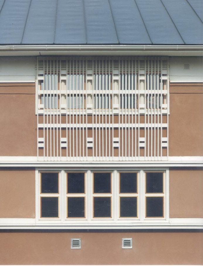 Utsidan av Ronald McDonald hus ritat av Rex Arkitektbyrå