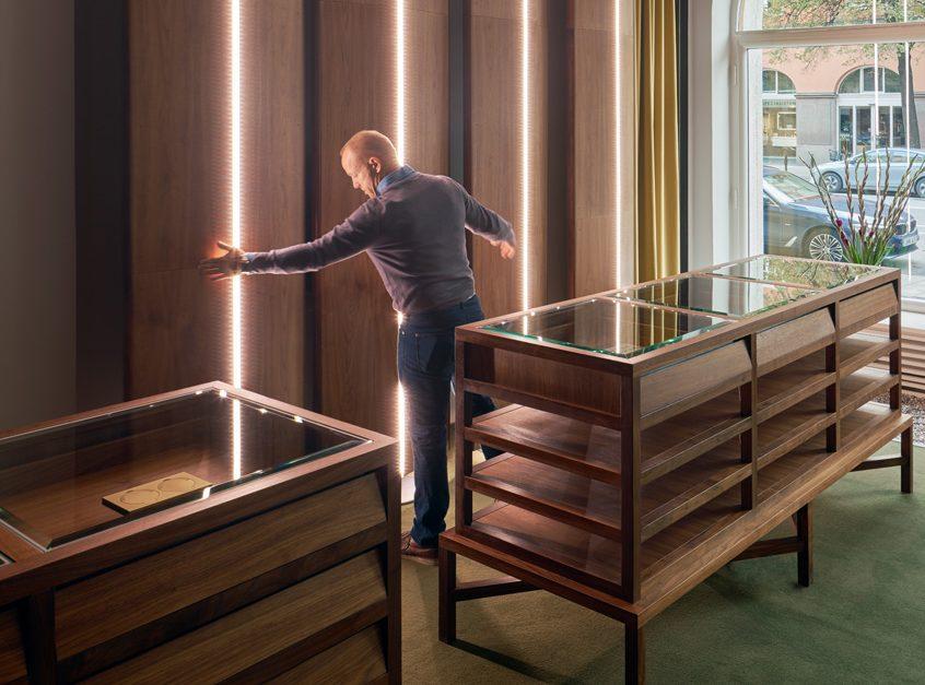 Rex Arkitektbyrå designade Alouds nya showroom och kontor i nära samarbete med företaget själva.
