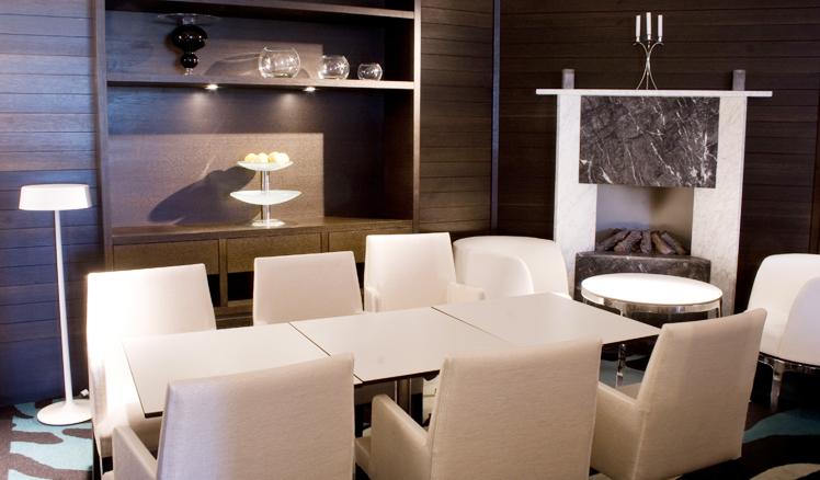 Ny lunchkantin med kiosk, à la Carte, bar och vinkällare i Martin Ohlsons restaurang. Rex Arkitektbyrå