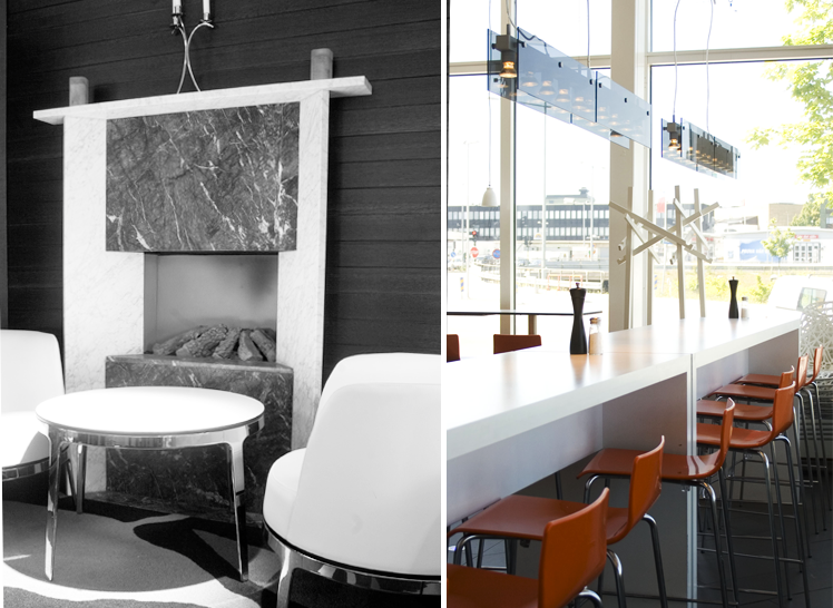 Vinkällare i Martin Ohlsons uppdaterade restaurang. Rex Arkitektbyrå