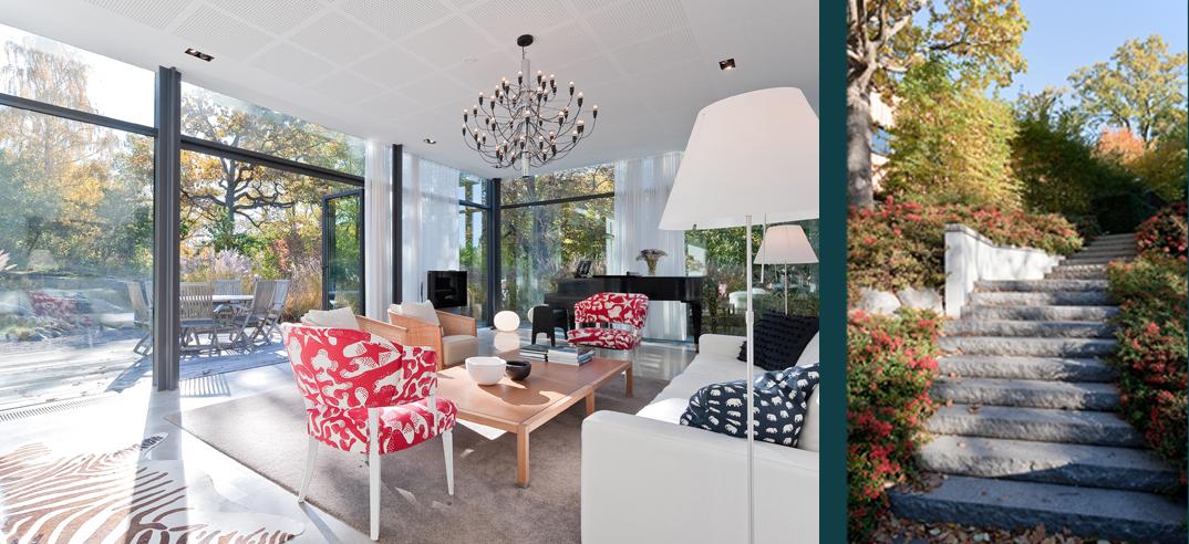 Rex Arkitektbyrå anlitades för om- och tillbyggnad av en relativt ny prefabricerad villa