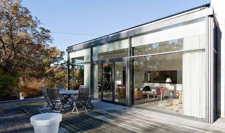Tillbyggnad i Villa Nyhem, av Rex Arkitektbyrå